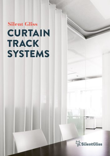 curtain track systems silent gliss
