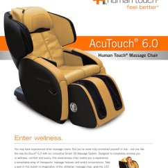 Htt Massage Chair Little Tikes Large Table And Chairs Ht Acutouch 6 0 Human Touch Pdf Catalogs 1 2 Pages