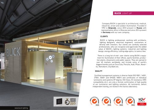company profile buck d o o pdf