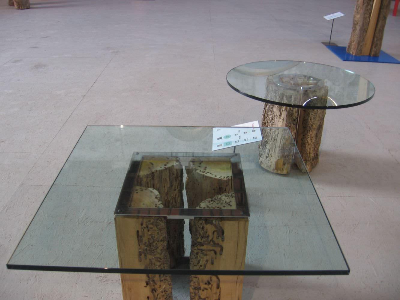 Moderner Couchtisch Glas Aus Eiche Quadratisch Versa By Thomas Herzog Riva Industria Mobili