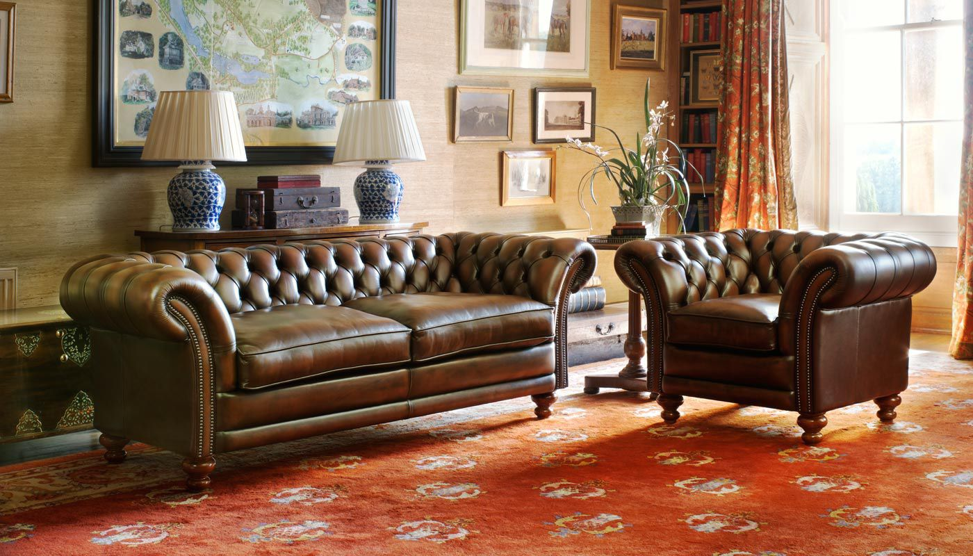 Chesterfield Sofa Hochlehner Modulierbares Sofa Chesterfield Samt Leinen Kingston