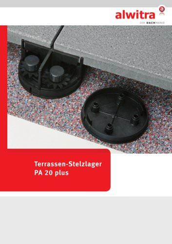 Terrassen Stelzlager Alwitra PDF Katalog Beschreibung Prospekt