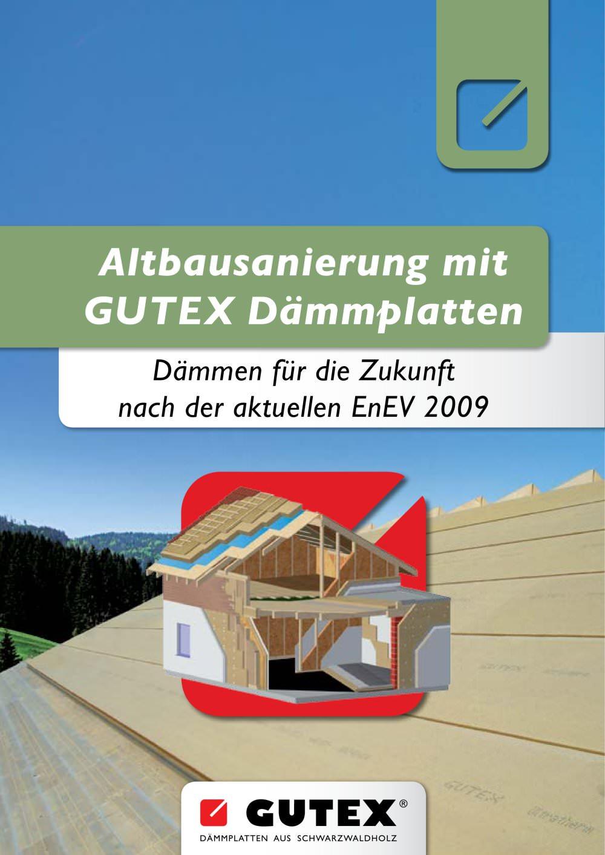 Gutex Altbausanierung - Gutex - Pdf Katalog | Beschreibung | Prospekt