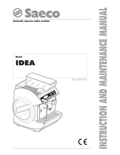 Todos los catálogos y folletos técnicos Saeco
