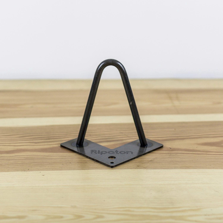 pied de table en acier hairpin leg 2