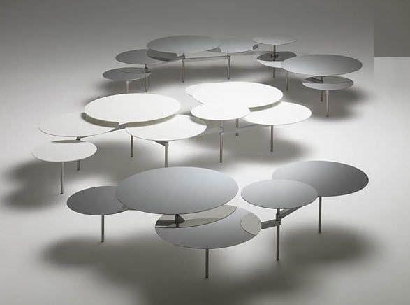 Table Basse Design Original En Metal Snake