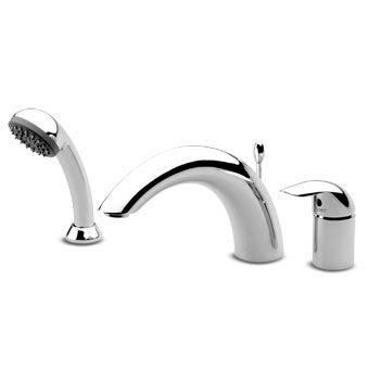 trous mitigeur baignoire a cascade 3 trous avec inverseur maison de la http sdebain com robinets robinetterie baignoire robinets 3 resultat superieur