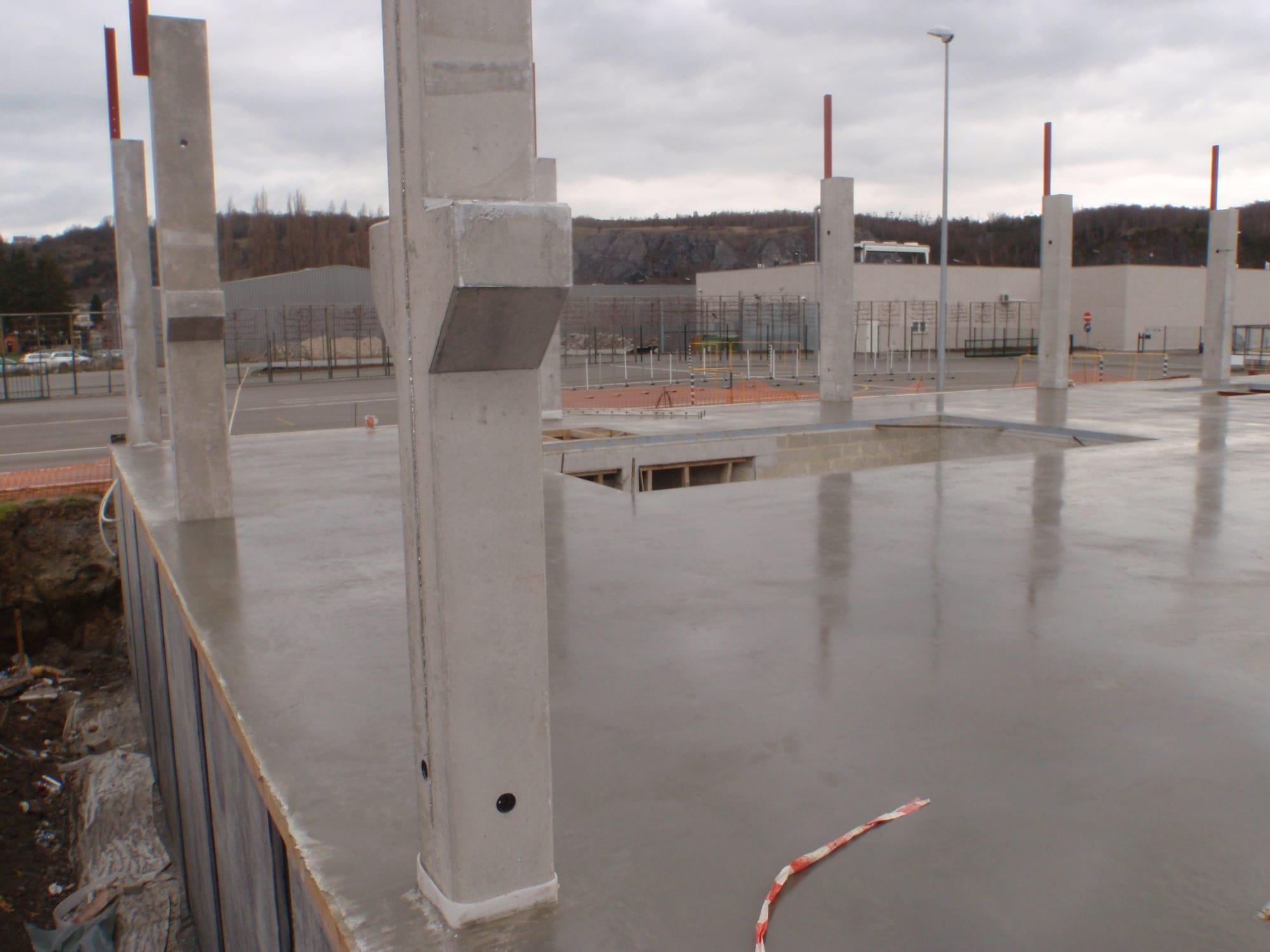 alpha beton de section rectangulaire