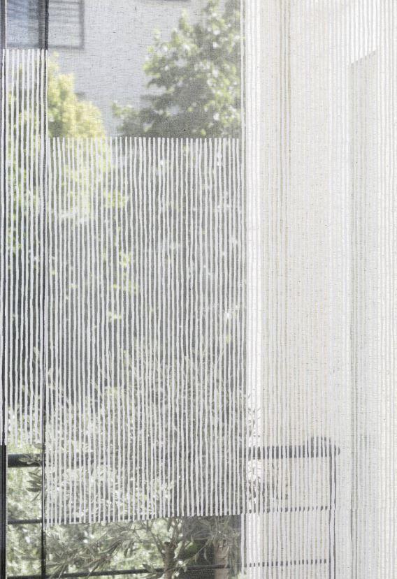 panneau japonais en tissu transparent