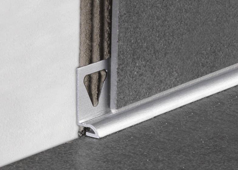 profile de finition en aluminium