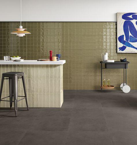 Carrelage D Interieur Retro Revigres Mural En Ceramique Emaillee 20x40 Cm