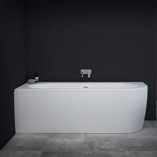 baignoire ovale slim corner