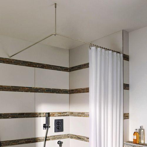 barre de rideau de douche en acier inoxydable dse1000 phos design gmbh d angle