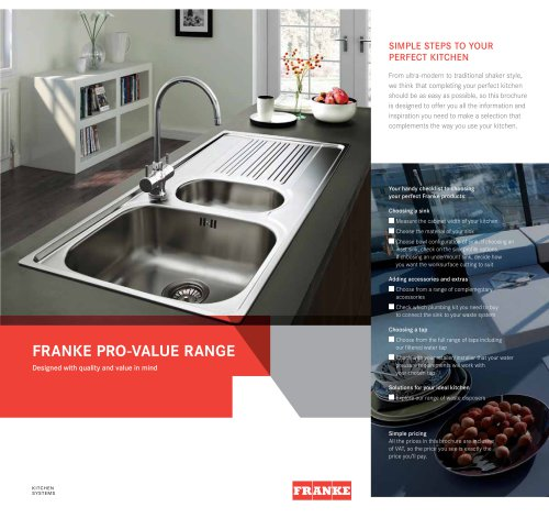 franke catalogue pdf