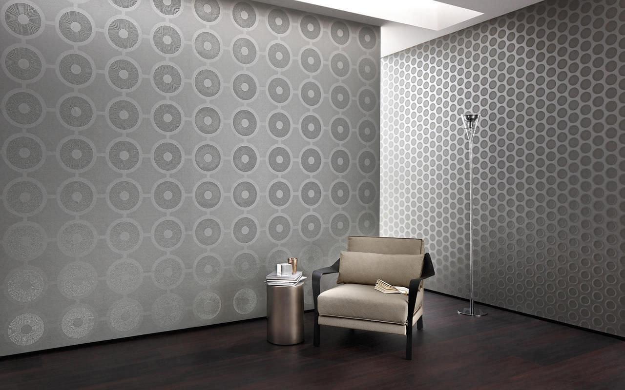 Ogni ambiente prende vita con il rivestimento adatto. Rivestimento Murale Per Uso Residenziale Lumeo Sahco Con Motivo Stampato Aspetto Tessuto