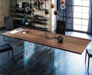 Tavolo moderno di design clover reverse & cloud. Tavolo In Legno Massiccio Tutti I Produttori Del Design E Dell Architettura Video