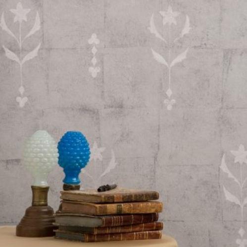 Fra le attività svolte anche il montaggio di tappezzerie moderne e di. Carta Da Parati Moderna Leaf Flower C C Milano In Tessuto A Motivi Bianca
