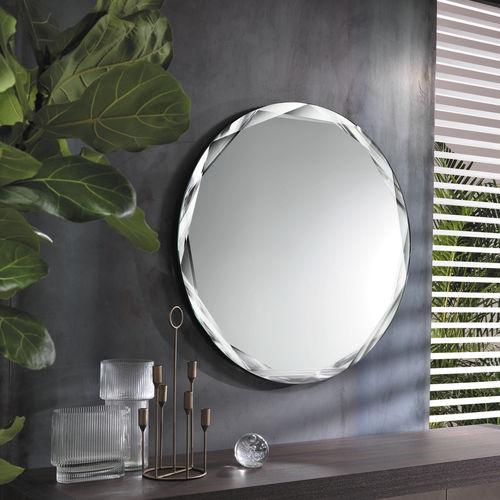 Acquista soffione specchio da parete avorio bianco per camera da letto, arti e mestieri 3212c131 al miglior prezzo! Specchio A Muro Gioiello Riflessi Moderno Rotondo Per Camera Da Letto