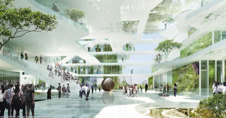 Winning Design Team For The New Island School In Hong Kong