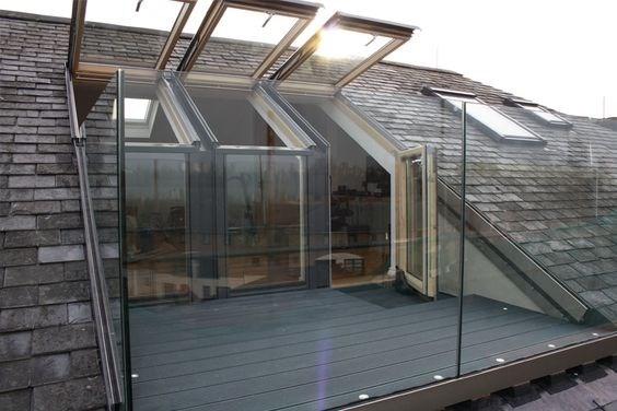 Un balcone nel tetto