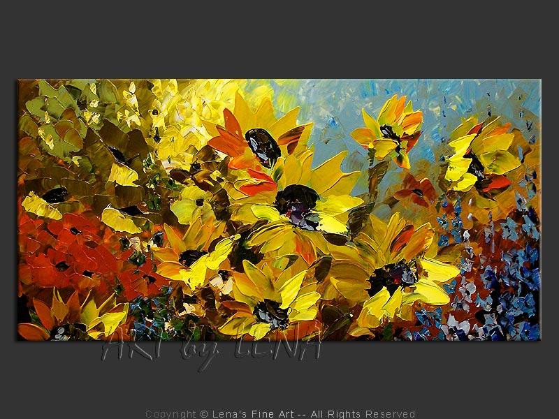 seville sunflower fields art