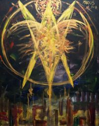 The descent of the Holy Spirit - Neboisia - Paintings & Prints, Abstract,  Color - ArtPal