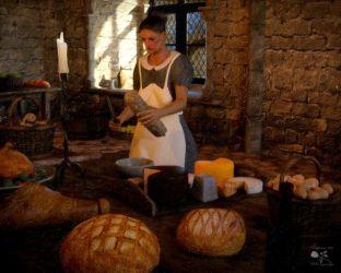 Medieval Kitchen Mystique Gallery Digital Art People & Figures Past & Historical Figures ArtPal