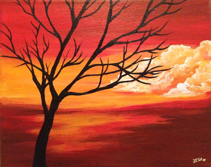 stick tree jesafineart paintings