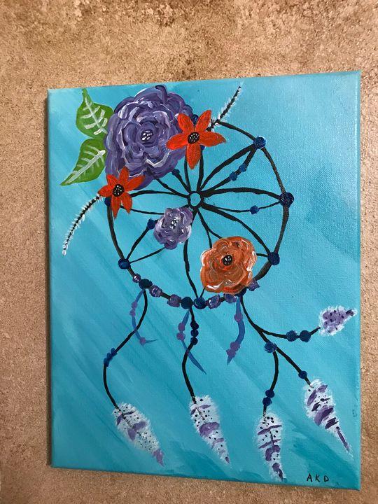 Dream Catcher Acrylic Painting : dream, catcher, acrylic, painting, Dream, Catcher, Acrylic, Painting, Paintings, Prints,, Ethnic,, Cultural,, Tribal,, Native, American, ArtPal