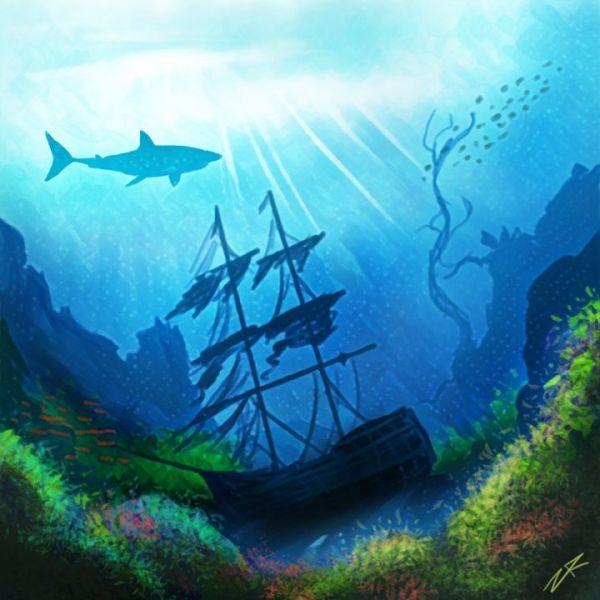 forbidden shipwreck - zach robison
