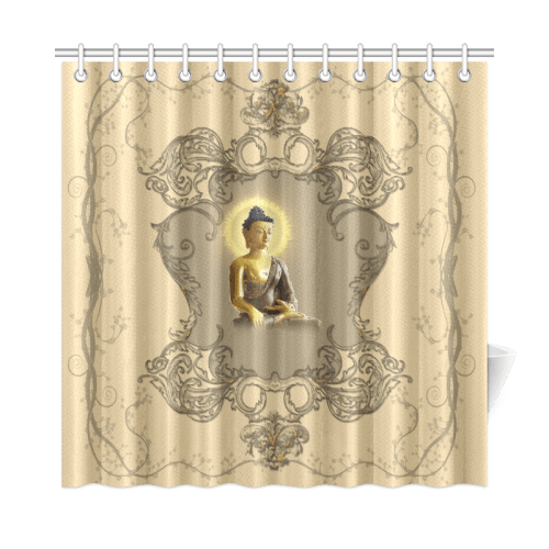 the buddha shower curtain 72 x72 id d179552