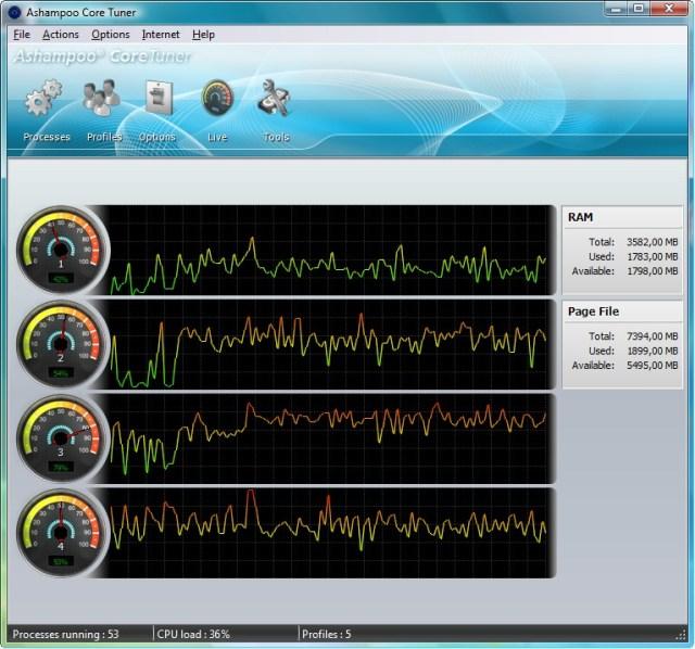 Resultado de imagen para Ashampoo Core Tuner