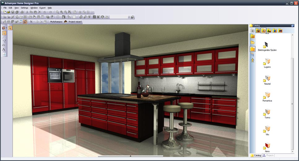 Ashampoo® Kitchen Catalog Extension