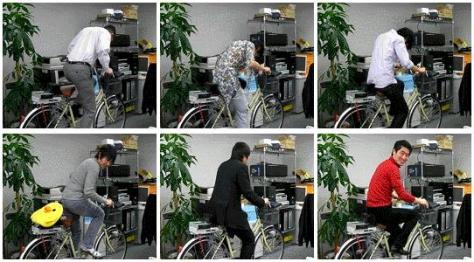 MyNet Japan Pedalling