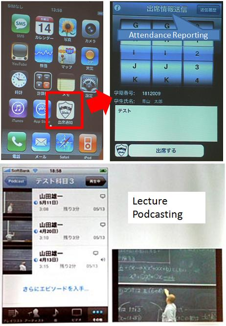 iPhone App for Aoyama Gakuin Univ.