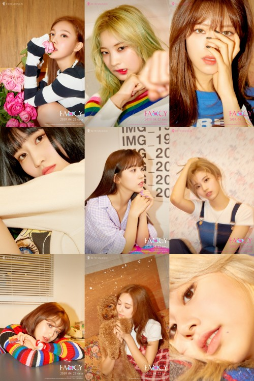 """TWICE drops individual teaser photos for """"Fancy You"""""""