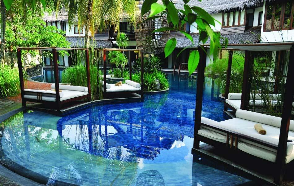 Villa Samadhi segi tiga emas  8 Lokasi Bercuti di