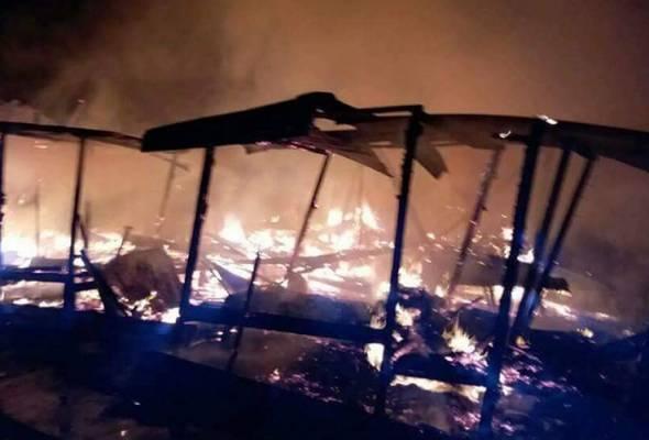 Pusat pengajian agama Pondok Pak Teh musnah terbakar