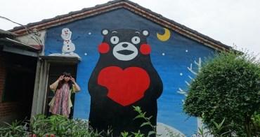 嘉義 ▌新港 : 南北崙壁畫村 龍貓壁畫村/青蛙壁畫村 鄉村裡的可愛壁畫