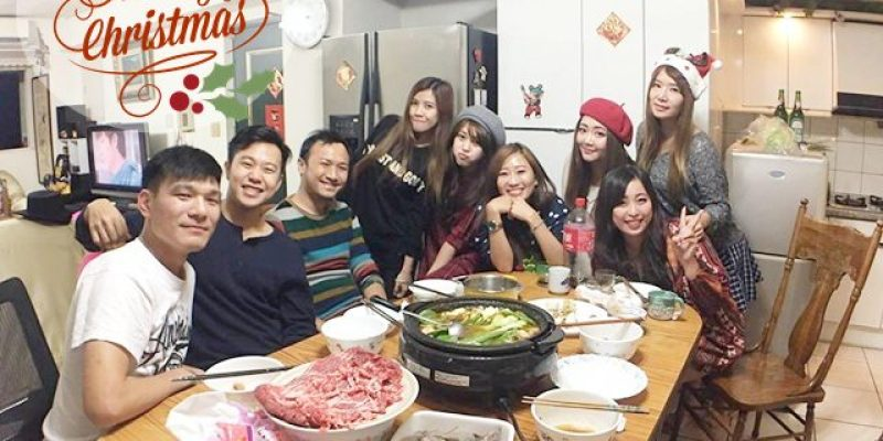 生活 ▌聖誕節快樂 和好友一起吃火鍋 玩超白癡桌遊 + 挑戰自己做章魚燒