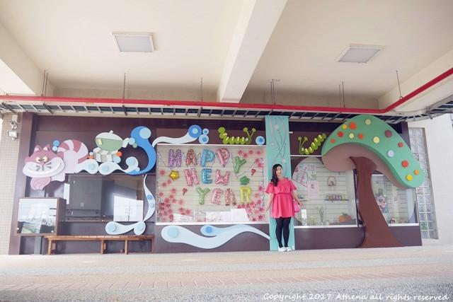 台中景點 ▌西屯區。有可愛動物雕像的 東海國小 在這念書有點幸福:)