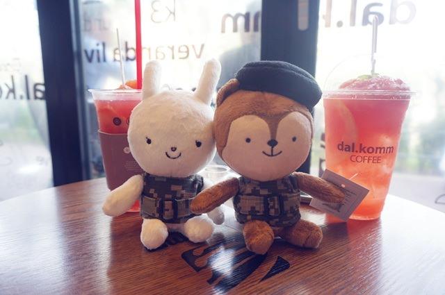 韓國 ▌仁川 : 太陽的後裔拍攝景點 dal.komm coffee 松島中央公園店