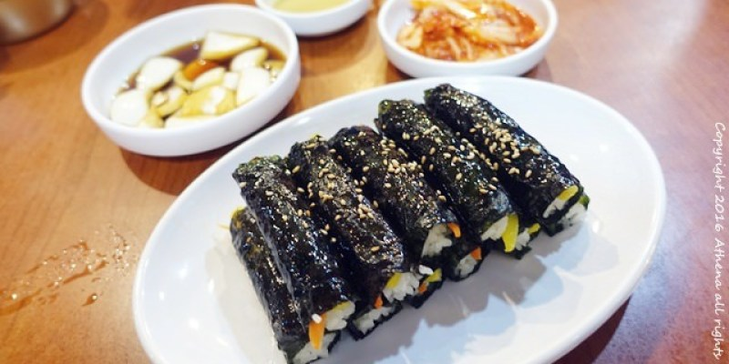 韓國首爾 ▌廣藏市場美食:朴家綠豆煎餅박가네빈대떡 好吃的麻藥飯卷 綠豆煎餅