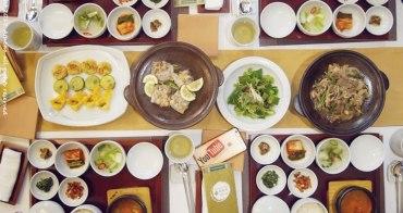 韓國 ▌首爾米其林美食餐廳:지화자 池蓮子韓定食 不只食物好吃連擺盤都超講究!!!
