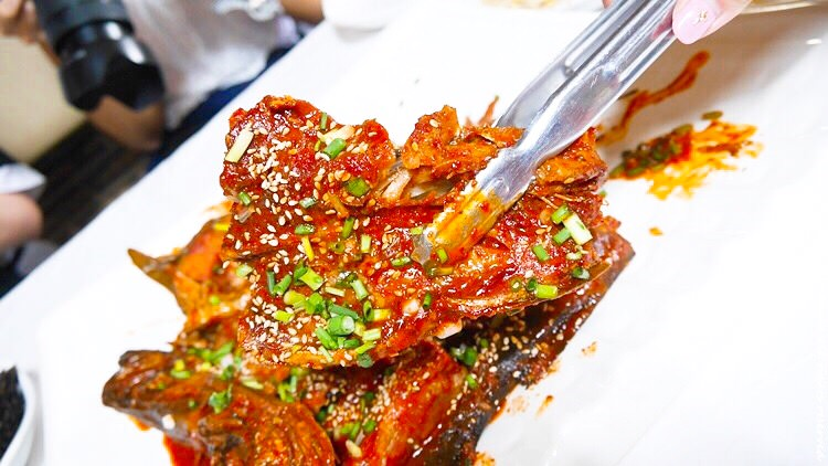 韓國江原道 ▌平昌必吃美食:50年傳統 黃太魚料理專門店 開成家 대관령맛집! 개성집
