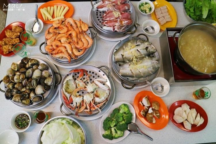 台北食記 ▌永安市場站: 二月牌沙茶爐 超級豐盛澎派的五層海鮮塔《麻依專欄》