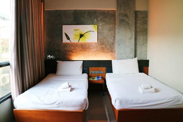 泰國旅行 ▌清邁住宿 B2 Green Hotel綠飯店 工業風簡約平價旅店 房間大《麻依專欄》