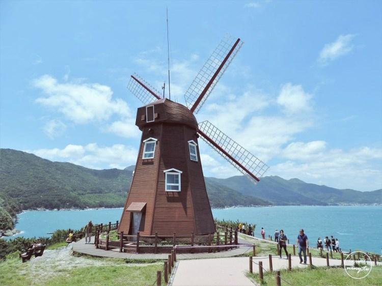 韓國 ▌巨濟島。從統營出發到巨濟島風之丘 我心目中韓國美麗海景前三名《妮妮專欄》