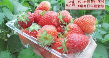 韓國大邱 ▌龜岩農村體驗 구암팜스테이 FARM STAY 大邱採草莓搗年糕《妮妮專欄》