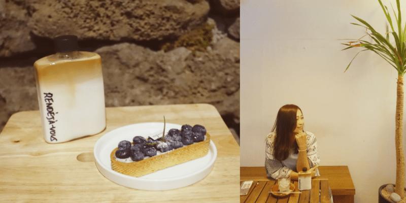 韓國首爾 ▌弘大(239):RENDEJA-VOUS 랑데자뷰 弘大咖啡廳推薦 秋日濟州島主題風